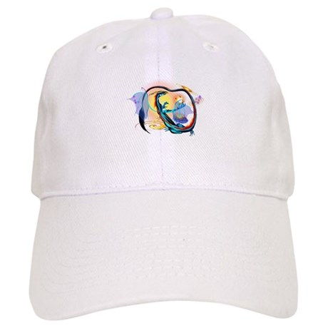 Blue Galaxy Dragon Cap