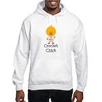 Crochet Chick Hooded Sweatshirt