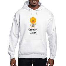 Crochet Chick Hoodie