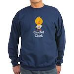 Crochet Chick Sweatshirt (dark)