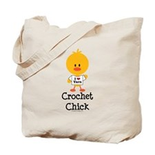 Crochet Chick Tote Bag