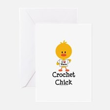 Crochet Chick Greeting Cards (Pk of 10)