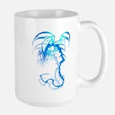 'Lectrik Dragon shadowed Mug