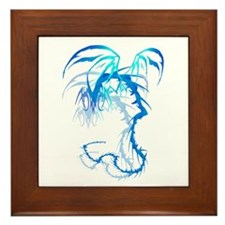 'Lectrik Dragon shadowed Framed Tile