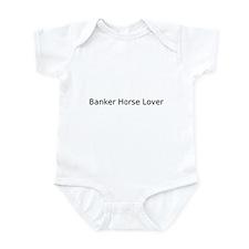 Cute Banker horse Infant Bodysuit