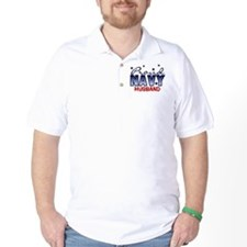 Proud Navy Husband T-Shirt