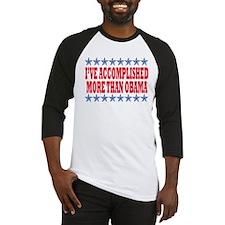 Not Obama 2012 Baseball Jersey