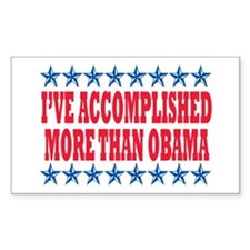 Not Obama 2012 Rectangle Decal