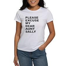 Please excuse my dear aunt sa Tee
