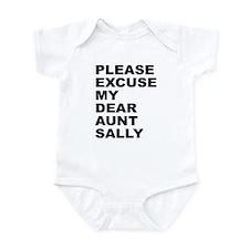 Please excuse my dear aunt sa Infant Bodysuit