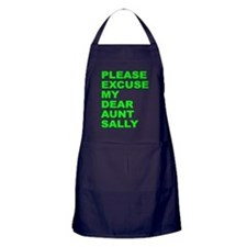 Please excuse my dear aunt sa Apron (dark)
