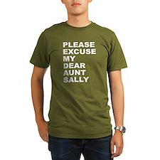 Please excuse my dear aunt sa T-Shirt