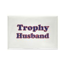Cute Trophy husband Rectangle Magnet