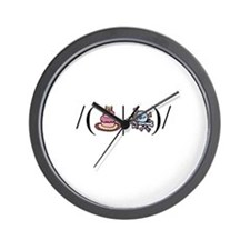 Cake or Death Wall Clock