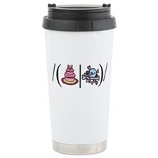 Cake or Death Travel Coffee Mug