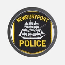 Newburyport Police Wall Clock
