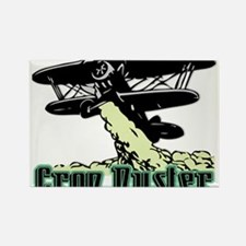 Crop Duster Rectangle Magnet