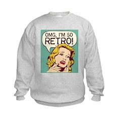 I'm So Retro Sweatshirt