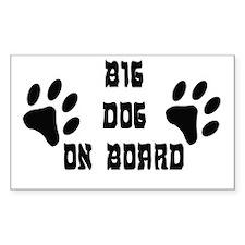 Big Dog On Board Decal