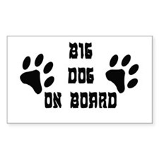 Big Dog On Board Decal