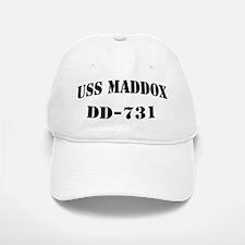 USS MADDOX Baseball Baseball Cap