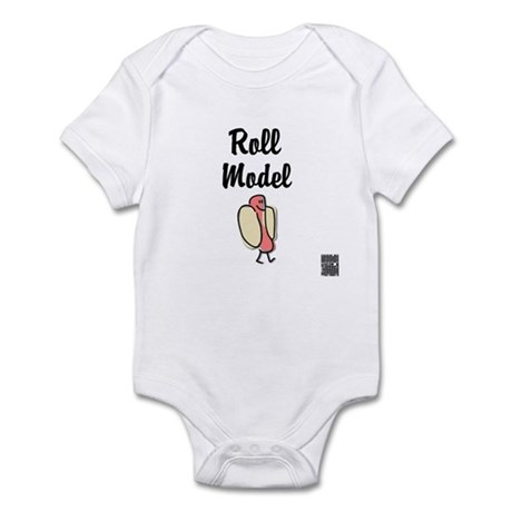 Roll Model Infant Bodysuit
