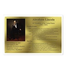 16: Abraham Lincoln Postcards (8 Pack)