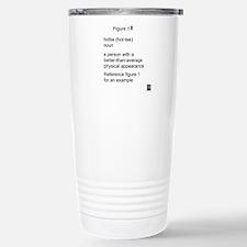 Hottie Stainless Steel Travel Mug