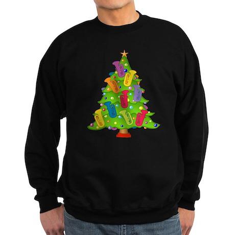 Tuba Christmas Sweatshirt (dark)
