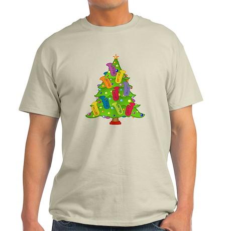 Tuba Christmas Light T-Shirt