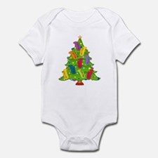 Tuba Christmas Infant Bodysuit