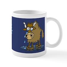 "Cartoon Yaks ""miss you"" Mug"