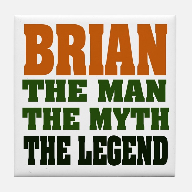 BRIAN - The Legend Tile Coaster