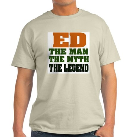 ED - The Legend Ash Grey T-Shirt