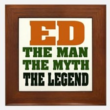 ED - The Legend Framed Tile