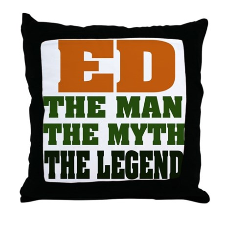 ED - The Legend Throw Pillow