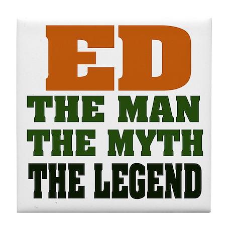ED - The Legend Tile Coaster