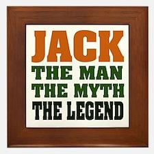 JACK - The Legend Framed Tile