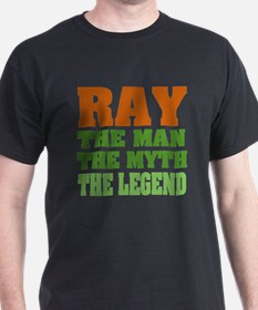 RAY - The Legend Black T-Shirt
