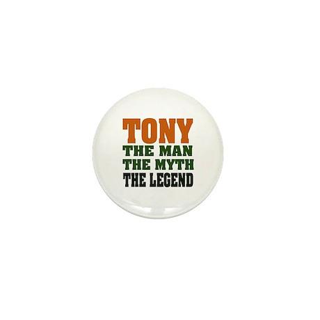 TONY - The Legend Mini Button