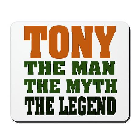 TONY - The Legend Mousepad