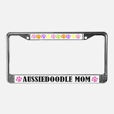 Aussiedoodle Mom License Frame