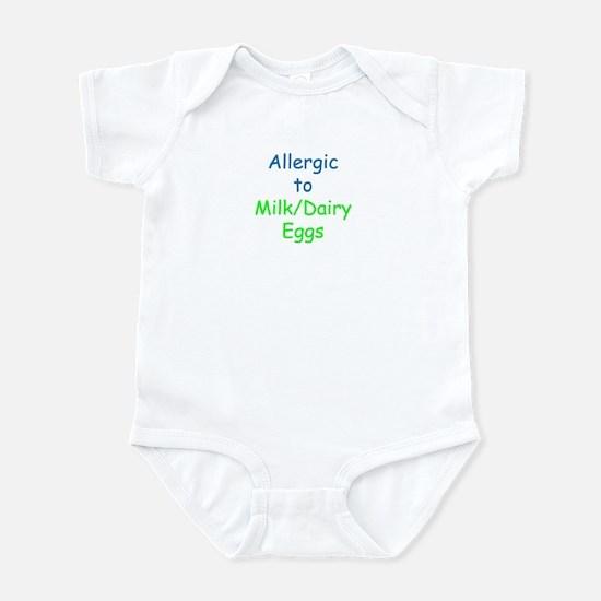 Allergic To Milk and Eggs Infant Bodysuit