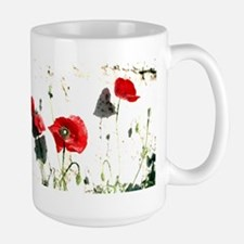 Large Poppies Mug