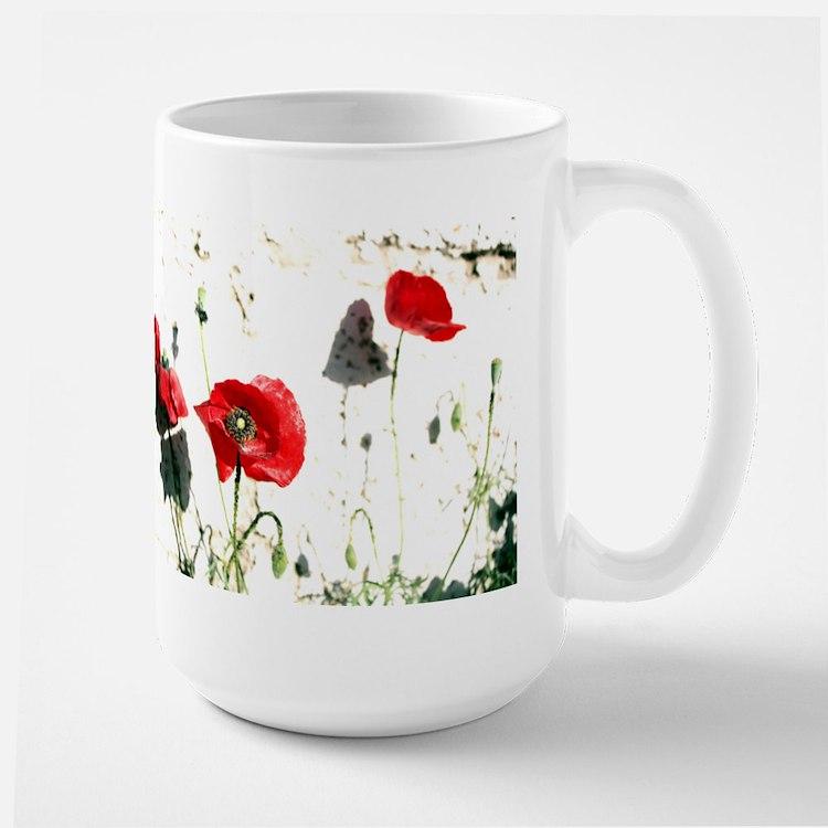 Large Poppies Mug
