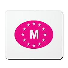 EU Pink Malta Mousepad