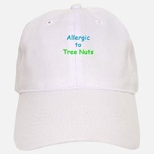 Allergic To Tree Nuts Baseball Baseball Cap