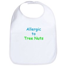 Allergic To Tree Nuts Bib