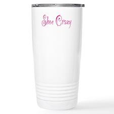 Shoe Crazy Travel Mug