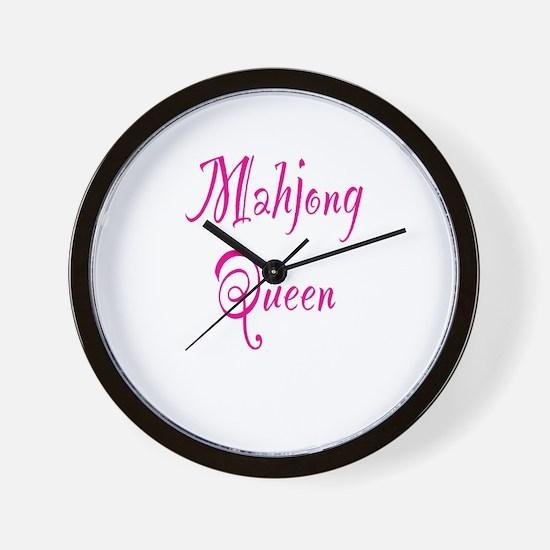 Mahjong Queen Wall Clock